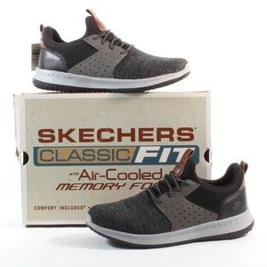 Skechers Shoes - Men's Skechers Classic Fit Air Cooled Memory Foam